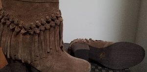 Sbicca suede leather booties